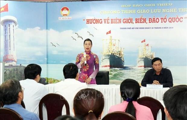 胡志明市市民心系祖国边界和海洋岛屿 hinh anh 1