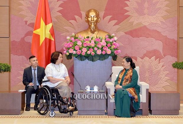 越南与美国议会加强合作 hinh anh 1