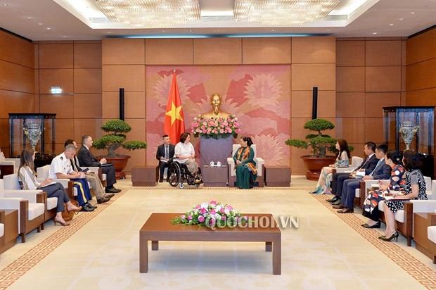 越南与美国议会加强合作 hinh anh 2