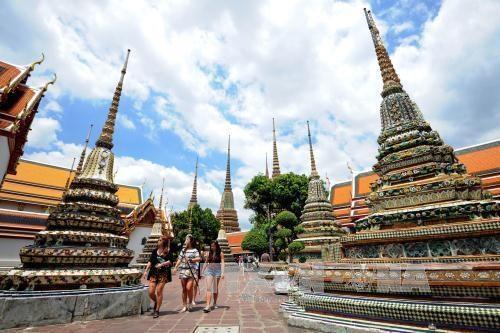 泰国对18国游客免签政策延长至明年4月 hinh anh 1