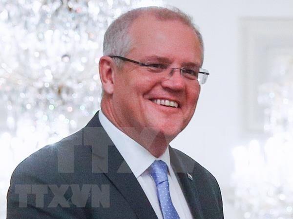 澳大利亚总理斯科特·莫里森:澳大利亚希望最大限度挖掘澳越两国关系的潜力 hinh anh 1