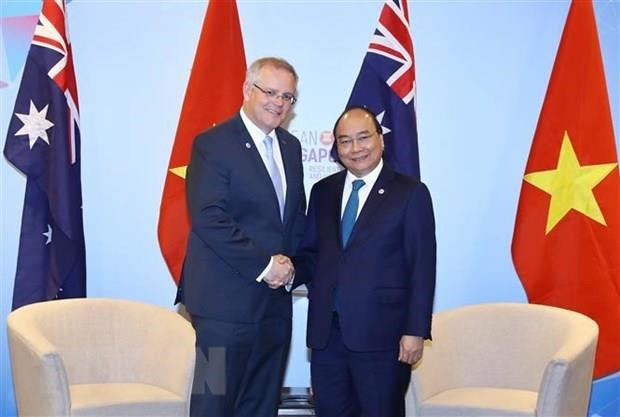 澳大利亚总理即将对越南进行正式访问:促进两国关系走向深入 hinh anh 1