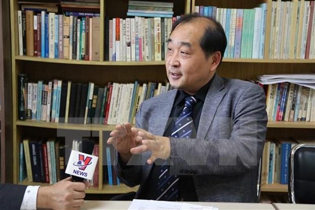韩国专家:应运用国际准则和平解决东海问题 hinh anh 1