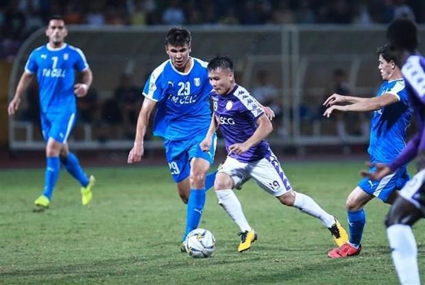 2019年亚足联杯:河内队主场战胜阿尔廷阿西尔 为客场作战打下基础 hinh anh 1