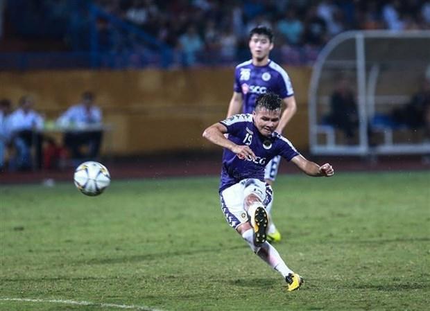 2019年亚足联杯:河内队主场战胜阿尔廷阿西尔 为客场作战打下基础 hinh anh 2