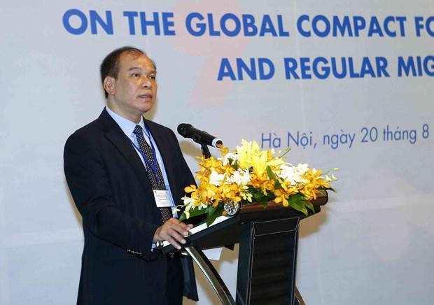 越南致力促进安全、有序和正常移民 hinh anh 1