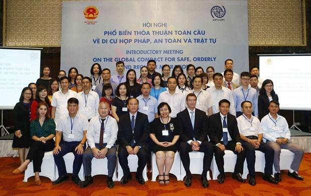 越南致力促进安全、有序和正常移民 hinh anh 3