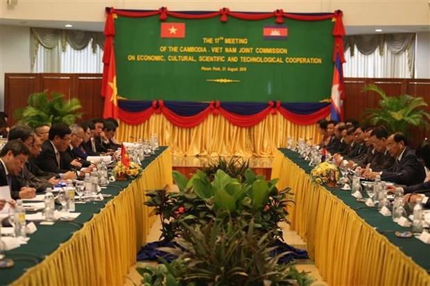 越南与柬埔寨签署全面合作协议 hinh anh 2