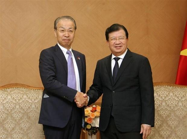 政府副总理郑廷勇:为对越南投资的日本企业创造便利 hinh anh 1