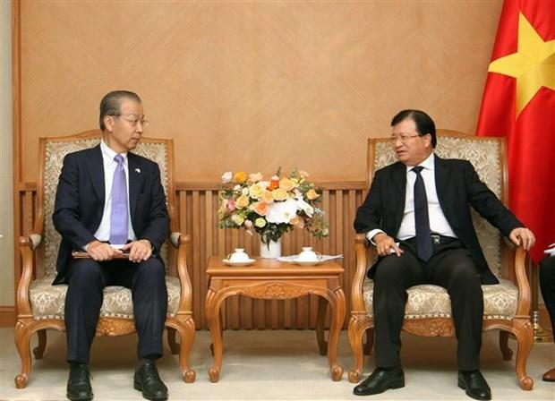 政府副总理郑廷勇:为对越南投资的日本企业创造便利 hinh anh 2