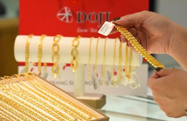 8月22日越南黄金价格涨跌互现 hinh anh 1