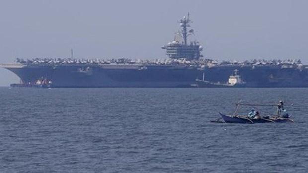 东盟与美国首次海上联合军演将于9月初举行 hinh anh 1