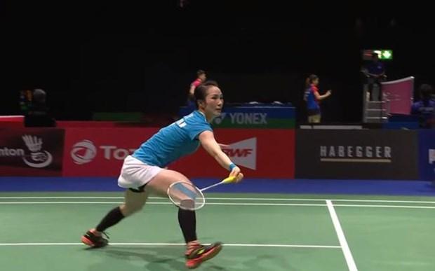 越南羽毛球运动员武氏庄在世界羽毛球锦标赛获大胜 hinh anh 1