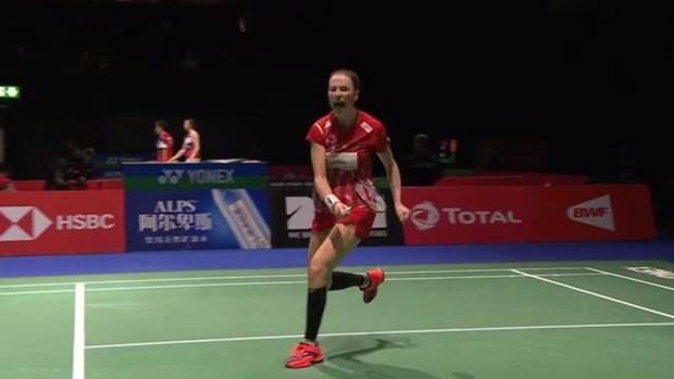 越南羽毛球运动员武氏庄在世界羽毛球锦标赛获大胜 hinh anh 2