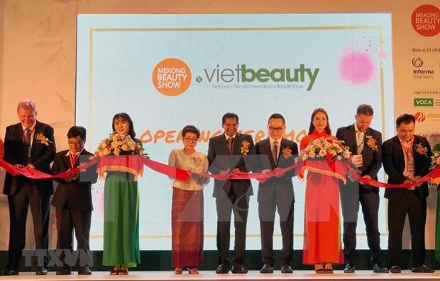 2019年越南最大的美容盛会展在胡志明市开幕 hinh anh 1