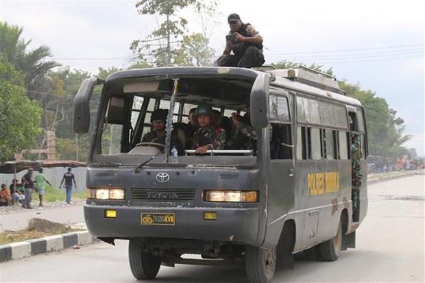 印度尼西亚加强巴布亚省安保工作 hinh anh 2