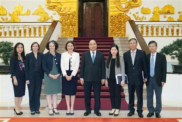 政府总理阮春福会见澳大利亚驻越大使 hinh anh 2