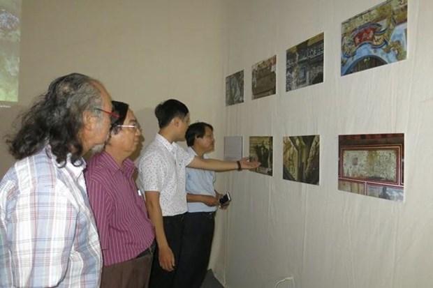 """""""回归顺化""""多媒体艺术展有助于建筑遗产保护工作 hinh anh 1"""