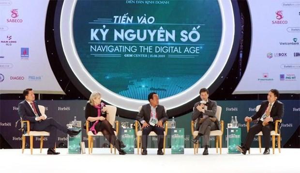 迈进数字化纪元越南将面临何种挑战? hinh anh 1