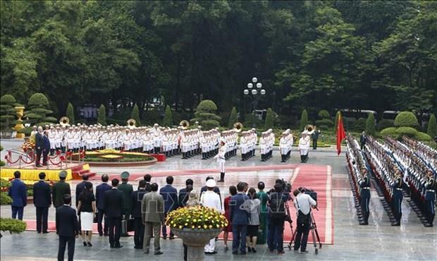 越南与澳大利亚发表联合声明 hinh anh 1