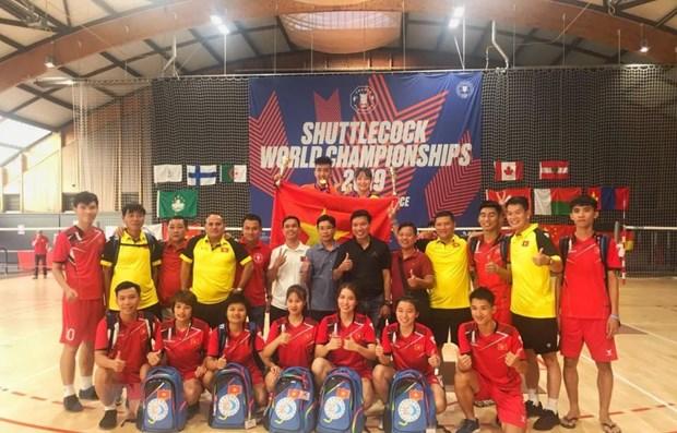 越南毽球队在第十届世界毽球锦标赛上获得多枚金牌 hinh anh 1