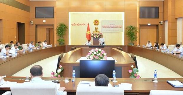 越南国会就在越外国人管理的相关法律政策执行情况进行专题监督 hinh anh 1