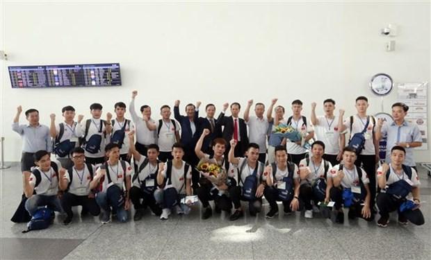 越南参加在俄罗斯举行的第45届世界技能大赛 hinh anh 2