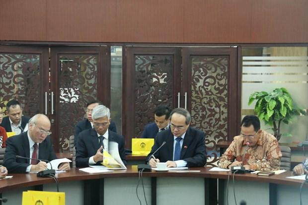 胡志明市希望与印尼加强在应对气候变化等方面的合作 hinh anh 2