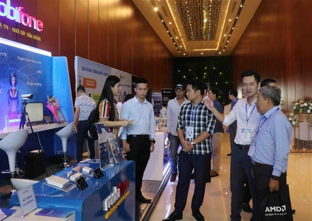 """""""数字转换、数据共享、完善电子政府""""研讨会在富安省举行 hinh anh 1"""