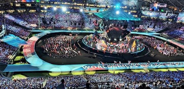 越南参加在俄罗斯举行的第45届世界技能大赛 hinh anh 1