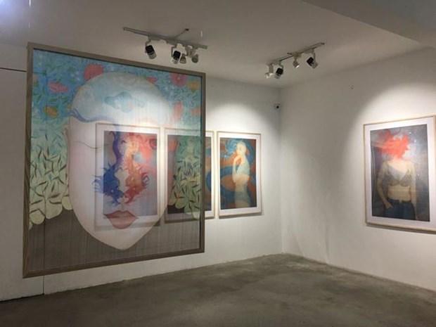 越南参加亚洲、大洋洲和太平洋当代艺术展 hinh anh 1