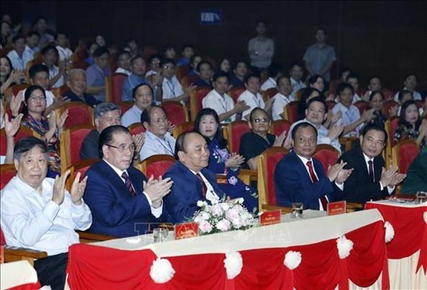 越南政府总理阮春福出席纪念北件省解放日70周年纪念典礼 hinh anh 1