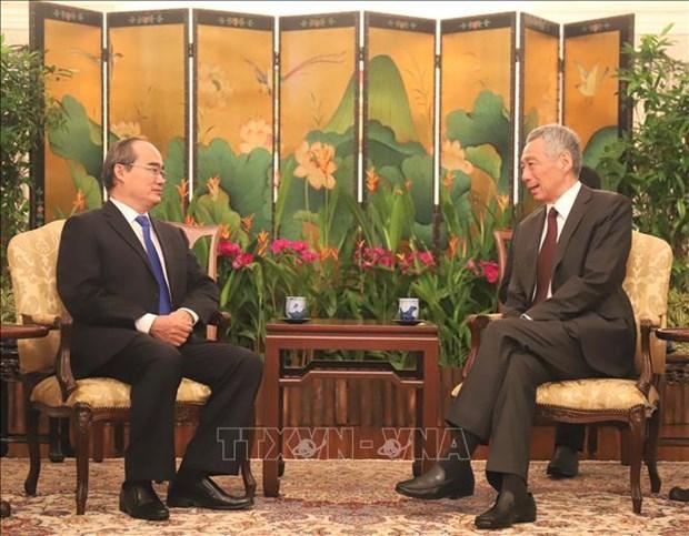 李显龙总理:新加坡希望促进与胡志明市的全面合作关系 hinh anh 1