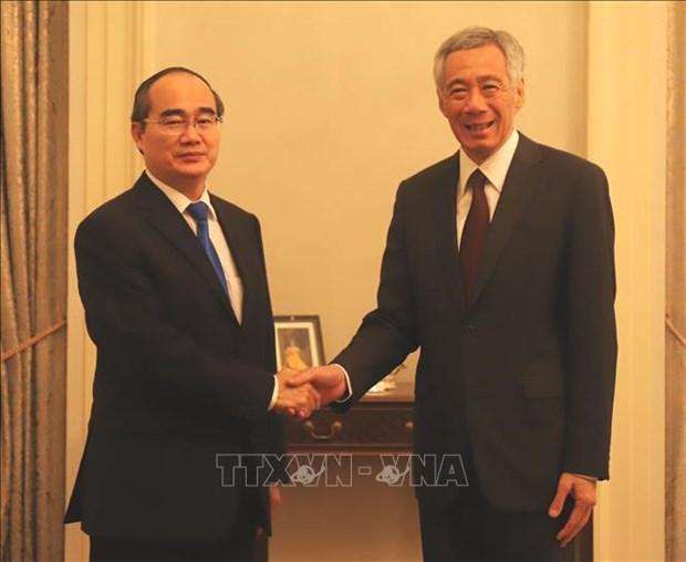 李显龙总理:新加坡希望促进与胡志明市的全面合作关系 hinh anh 2