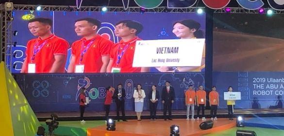 越南队在2019年亚太大学生机器人大赛获得三等奖 hinh anh 2