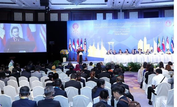 越南国会主席阮氏金银:继续强化遵守国际法的重要性 hinh anh 1