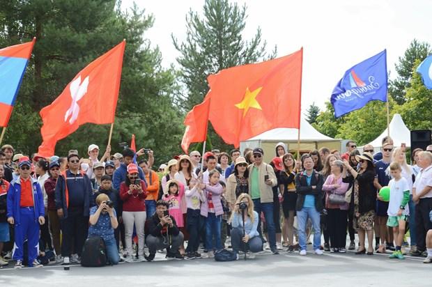越南代表团在俄罗斯夏季外交运动会赢得两枚奖牌 hinh anh 1