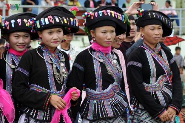 莱州省卢族妇女的传统服装 hinh anh 1