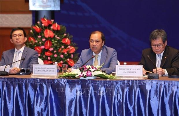 2020年东盟年高层座谈会:加强东盟秘书处与2020年东盟轮值主席国的协调配合 hinh anh 2