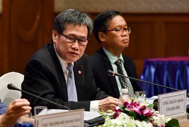 2020年东盟年高层座谈会:加强东盟秘书处与2020年东盟轮值主席国的协调配合 hinh anh 3