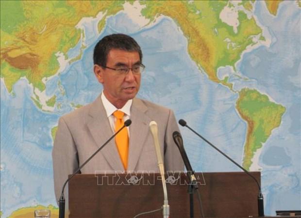 日本外务大臣强调维护东海上法律至上原则的必要性 hinh anh 1