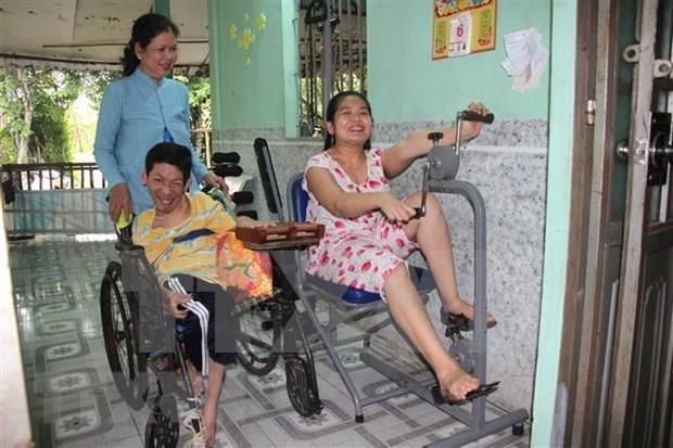 日本协助提升越南橙毒剂感染区居民健康水平 hinh anh 1