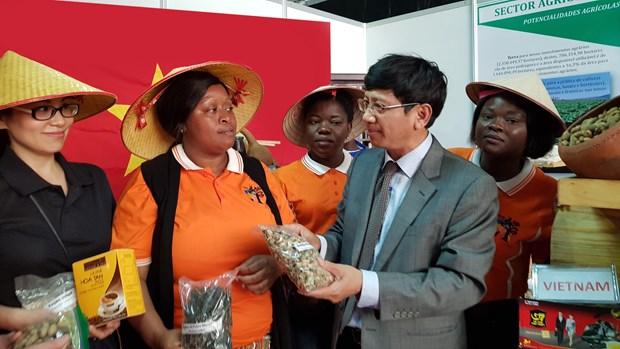 越南产品在第55届马普托国际博览会上颇受参观者的关注 hinh anh 1
