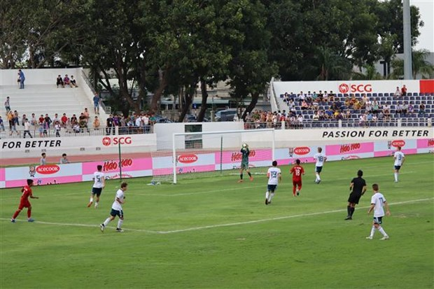 2019年Acecook杯U15国际男足比赛开战 hinh anh 1