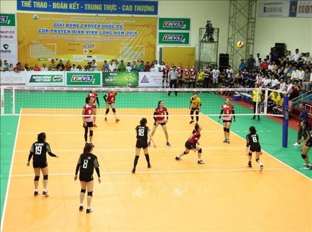 2019年永隆电视杯国际排球比赛正式开赛 hinh anh 2