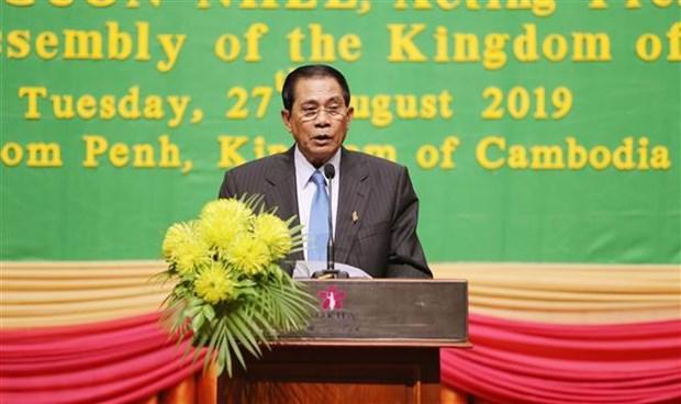 柬老越三国国会国防与安全委员会第四次会议开幕 hinh anh 2