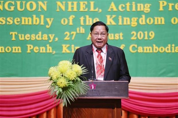 柬老越三国国会国防与安全委员会第四次会议开幕 hinh anh 3