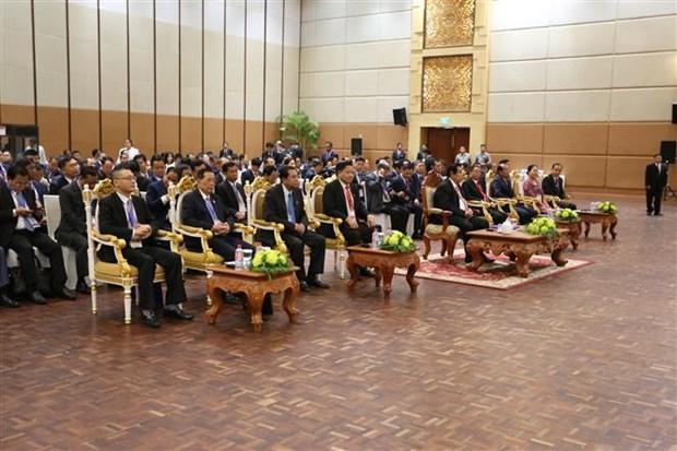 柬老越三国国会国防与安全委员会第四次会议开幕 hinh anh 1