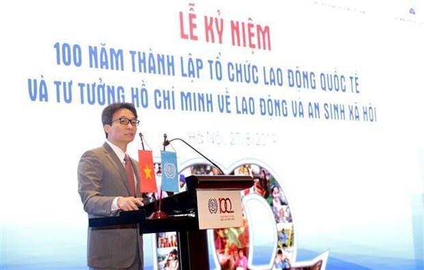 越南将在融入国际过程中营造更具吸引力的劳动环境 hinh anh 2