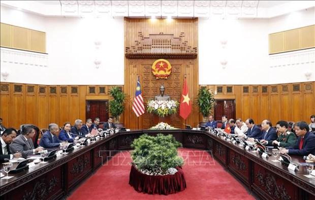 越南政府总理阮春福与马来西亚总理马哈蒂尔举行会谈 hinh anh 2